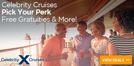 Celebrity: Pick Your Perk – Choose from Free Gratuities, Onboard Credit, and More