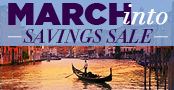 Our Exclusive March Into Savings Sale − Going on Now!