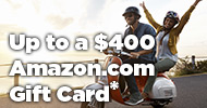 Avoya Exclusive! Up to a $400 Amazon.com Gift Card