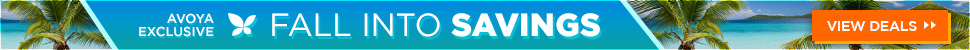 Avoya Travel: Exclusive Fall Into Savings Sale
