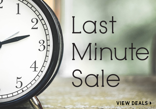 Exclusive Last Minute Sale!