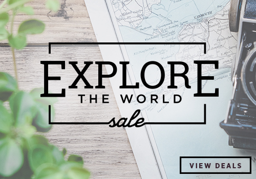 Exclusive Explore The World Sale