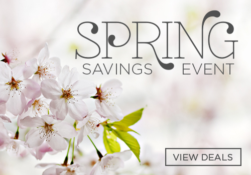 Exclusive Spring Savings Event