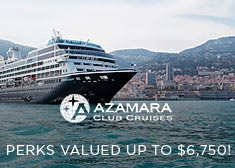 Azamara: Perks Valued up to $6,750!