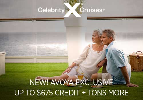 Celebrity: NEW Avoya Exclusive! Up to $675 Credit + Tons More
