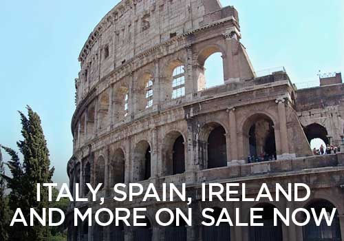 Italy, Ireland, Spain, and More on Sale Now