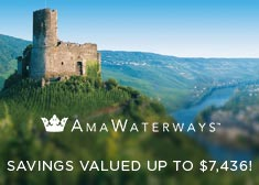AmaWaterways: Savings Valued up to $7,436!