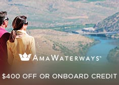 AmaWaterways: $400 Off OR Onboard Credit