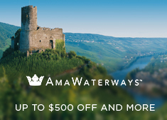 AmaWaterways: Up to $500 Off AND More