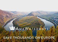 AmaWaterways: Save Thousands on 2017 Europe