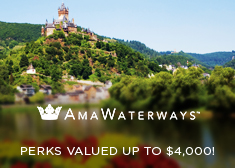 AmaWaterways: Perks Valued up to $4,000!