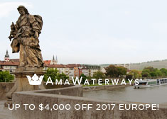 AmaWaterways: Up to $4,000 Off 2017 Europe!