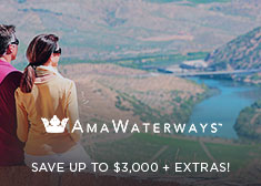 AmaWaterways: Save up to $3,000 + Extras!