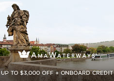 AmaWaterways: Up to $3,000 Off + Onboard Credit