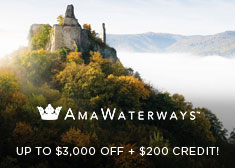 AmaWaterways: Up to $3,000 Off + $200 Credit!