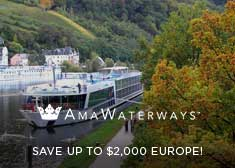 AmaWaterways: Save up to $2,000