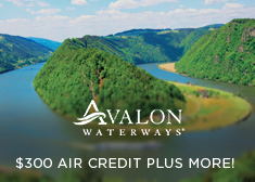 Avalon Waterways: $300 Air Credit PLUS More!