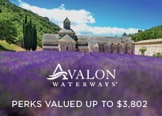 Avalon Waterways: Perks Valued up to $3,802