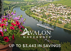 Avalon Waterways: Up to $3,443 in Savings