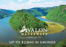 Avalon Waterways: Up to $2,840 in Savings