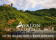 Avalon: Up to $3,690 Off + $299 Airfare