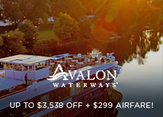 Avalon Waterways: Up to $3,538 Off + $299 Airfare!