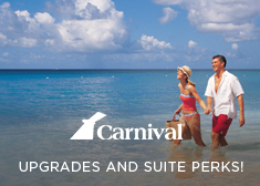 Carnival: Upgrades AND Suite Perks!