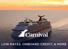 Carnival: Low Rates, Onboard Credit, & More