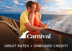 Carnival: Great Rates + Onboard Credit!