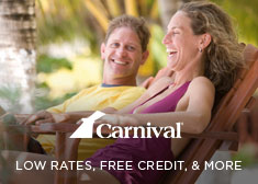 Carnival: Low Rates, Free Credit, & More