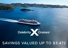 Celebrity: Savings Valued up to $3,472