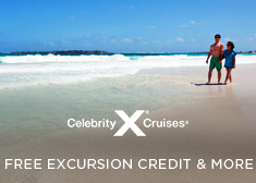 Celebrity: Free Excursion Credit & More