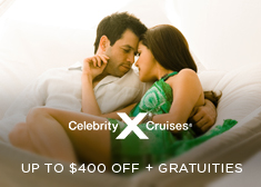 Celebrity: Up to $400 Off + Free Gratuities