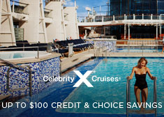Celebrity: Up to $100 Credit & Choice Savings
