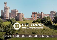 CIE Tours: Save Hundreds on 2017 Europe