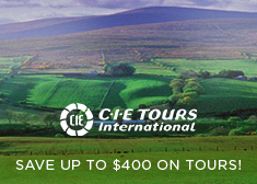 CIE Tours: Save up to $400 on Tours!