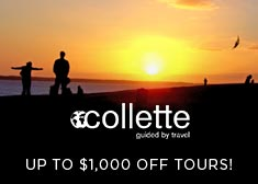 Collette: Up to $1,000 Off Tours!