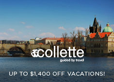 Collette: Up to $1,400 Off Vacations!