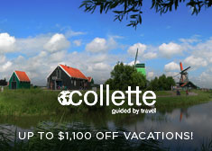 Collette: Up to $1,100 Off Vacations!