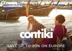 Contiki: Save up to 20% on Europe