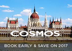 Cosmos: Book Early & Save on 2017