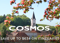 Cosmos: Save up to $634 on Itineraries
