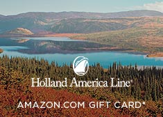 Holland America: Free Amazon.com Gift Card*