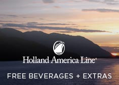 Holland America: Free Beverages + Extras