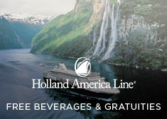 Holland America: Free Beverages & Gratuities