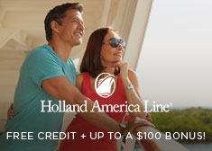 Holland: Up to $200 Credit + Up to a $100 Bonus!