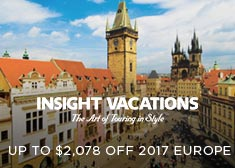 Insight: Up to $2,078 Off 2017 Europe!
