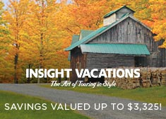 Insight: Savings Valued up to $3,325!