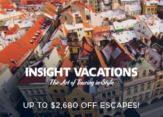 Insight Vacations: Up to $2,680 Off Escapes!