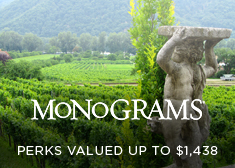 Monograms: Perks Valued up to $1,438